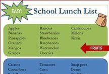 SCHOOL LUNCH IDEAS FOR KIDS / School Lunch Ideas