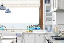 Beachy Kitchens / by Caron's Beach House