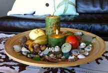Candlelight on the Coast / Fun ideas for candle light at the beach with sea shells, nautical hurricanes, party ideas and more!