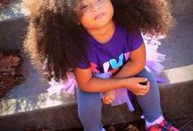 Natural Curly Kids / Adorable children with natural hair texture. Inspiration and solutions for great hair for kids.