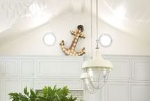 "Anchors Away! / Fun ""anchor"" home and fashion accents for all nautical lovers!"