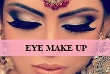Eye Make Up / Enhance the beauty of your eyes with these tips. | Eye make up tips | Eye make up trends