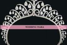 Wedding Tiaras / Look like a princess on your wedding. Here are various options for tiaras for you.