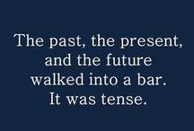 Grammatical Sabbatical