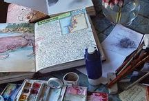 Beautiful Disaster; Journaling ~ My Way / Prompts, tips, & creative ideas - One journal CAN contain everything I WANT it to contain ;)  It's going to be a beautiful disaster!