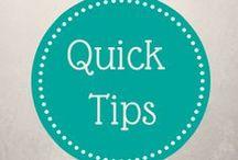 Quick Tips with Rachel