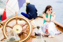 The Yachting Life / Fun ideas for the boating and yachting fan!  Decorate with a maritime style -