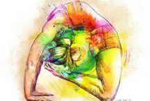 #chmielewska.design - ILLUSTRATION / graphic design illustration, illustration art, yoga art illustrations, expression art, Jung art, laboratory of arts, portrets, watercolor