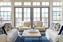 Lakeside Living / We are curating a whole new home decor collection of lake and cabin styles for our friends (and customers!)  that are searching for the finishing touch for beautiful lake shore homes.  A little bit nautical, a touch of maritime and a slice of cabin inspiration to enjoy decorating for life at the lake! Lake shore themed rugs, color-filled lake house pillows, wall decor, glassware and so much more.