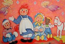 Raggedy Ann and Andy / by Michelle Eifert