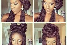 Box Braids Hairstyles / Box braids are a versatile, low-maintenance style for transitioning to or maintaining healthy natural hair. Look how many easy ways you can wear them!