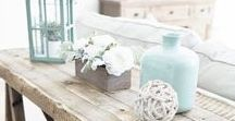 Coastal Farmhouse / Right on trend - a rustic, family fun style to create at your beach home!  Curating looks that we know will blend perfectly together to make the Coastal Farmhouse style your very own!