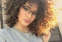 Medium-Length Natural Hair Styles / Versatile medium-length hair styles for black women with natural hair.