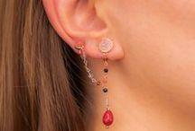 Earrings / Earrings, Earcuff, Jewels, Handmade Jewelry