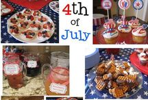 4th of July - Celebration / Awesome treats and decoration ideas / by Tammy Young