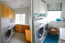laundry rooms / who knew i'd ever care so much about this room! / by Laurie Ducharme