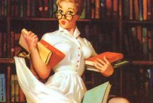 Geeky librarian