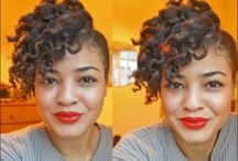 Natural Hair / Natural afro and curly hair / by Yolanda