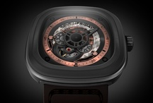 P2/01 / The second ever Sevenfriday, channeling the industrial revolution.  The copper accents and different materials have made this one of the ultimate fan favourites.