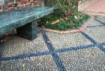 Garden.  Paths, paving and pebbles / by Jo Wiles