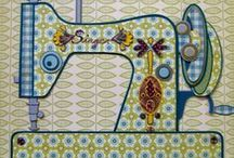 SEWING, EMBROIDERY & APPLIQUE / by Jeannette Ulloa