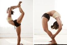 "Yoga / ""Yoga is the perfect opportunity to be curious about who you are."""