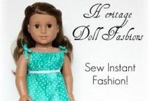 Sewing American girl doll