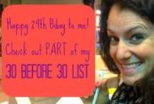 Kathleen's 30 Before 30 List / I created a list of amazing things I would do, be, have, attend, participate in, learn, or read in my 29th year of life before my 30th Birthday in December 2014