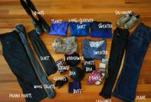Badass Packing Lists / These are our ultimate packing lists for: Bike touring packing list, John Muir Trail Packing list, Backpacking Europe packing List, long-term travel packing list, women's clothing packing list, etc etc etc!