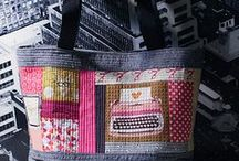 SEWING HANDBAGS, POUCHES & COINPURSES / by Jeannette Ulloa