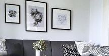 LIVING SPACE / Ideas for my home. I am Danish and live the Scandinavian Style. I just can't help it...