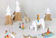 b & b : welcomes winter / Fun winter games, printables and activities for kids