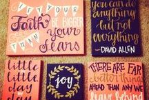 Craft Ideas / by Kristen Daffron