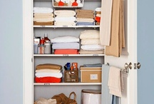 organization and cleaning / by Nicole Shelley