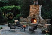 Backyard & patio ideas / by Critty Howard