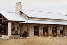 Barndominium / Ideas- exterior, floor plans & deco inspiration for our new steel frame home