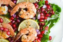 Food - Healthy Eating Seafood / by Critty Howard