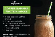 Isagenix Shake Day meal Ideas / Great #Isalean Shake recipes and nutritious Knife and fork meal ideas for your #Isagenix Shake day, or any day of your life