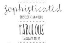 typographie | journaling scrapbooking / police, écriture, titre, journaling, font, typograpphie, typo, lettre, écriture, manuscrite, calligraphie