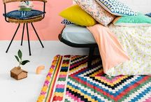 Eclectic Colorful Home / Home Decor + Awesome Small Space Ideas