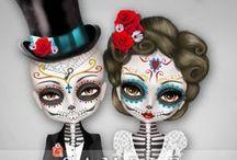 Suger Skulls / by Carrie Garrett