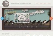 Web Design Fascination / by Rebecca Tillett