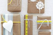 Gift Wrapping & Care Package Ideas / Creative Gift Wrap + Some Sweet Care Package Ideas - Especially for Deployments