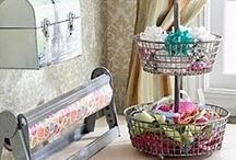 {Crafts} Room Ideas/Organization / by Kate Gurney