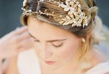 Bridal Hair Accessories & Hair Styles / Still searching for the perfect 'do for your big day? Get inspired by these gorgeous styles, bridal headpieces, veils, bridal hair inspiration that will leave any bride dressed to impress!