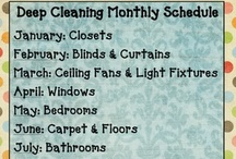 Cleaning: Schedules / by Jennifer