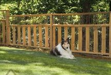 Fancy Fences / Whether you want pure privacy, contain pets and children or just something to keep out those rascally rabbits, Atlanta Decking can provide the best fence for your home and requirements. Take a look at these design styles for some great ideas that can add real value to your home when it comes time to sell.