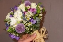 Jess and Robs' wedding flowers