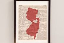 New Jersey - my Garden State / Happy things that celebrate the little state with a big mouth.