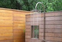 Outdoor Showers / Who says showers are just for indoors? Check out these interesting designs that promise to make for a very refreshing experience -- and don't forget your towel!